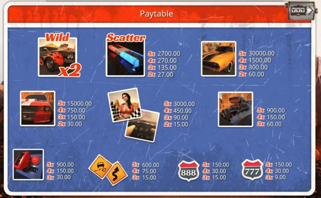 Casino Dingo featuring the Video Slots Desert Drag with a maximum payout of $30,000