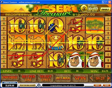 Spiele Desert Treasure - Video Slots Online