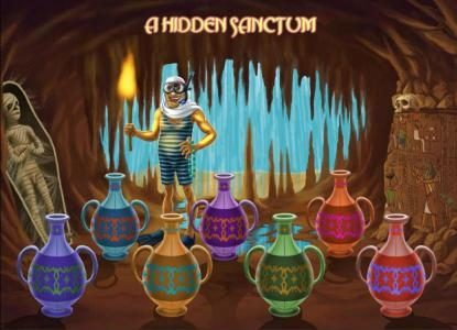 Desert Treasure II :: choose three vases to reveal your prize