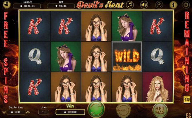 NordiCasino featuring the Video Slots Devil's Heat with a maximum payout of $50,000