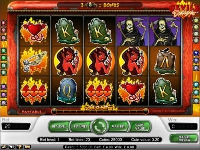 Play slots at Ladbrokes: Ladbrokes featuring the Video Slots Devil's Delight with a maximum payout of $20,000