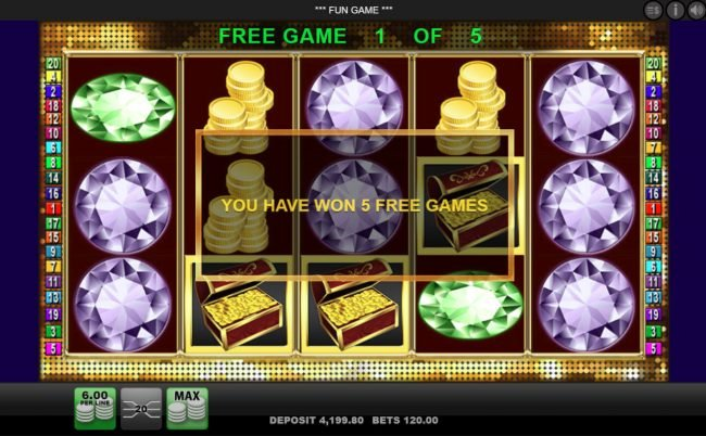 Queen Vegas featuring the Video Slots Diamond Casino with a maximum payout of $10,000
