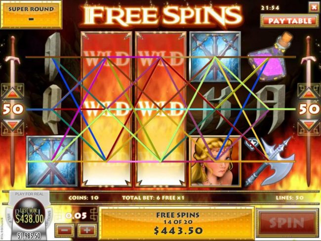 Supernova featuring the Video Slots Diamond Dragon with a maximum payout of $1,500