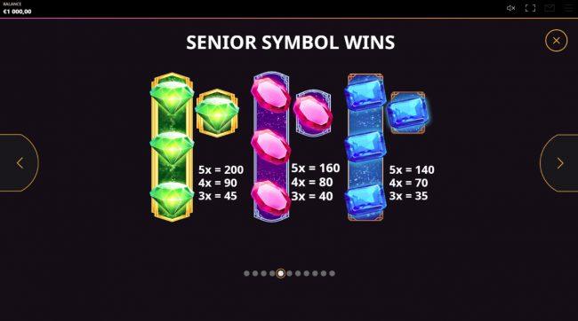 Diamond Rush :: Medium Value Symbols
