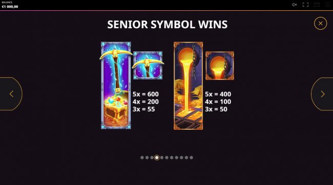 Diamond Rush :: High Value Symbols