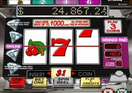 Sun Palace featuring the Video Slots Diamond Mine Deluxe with a maximum payout of $45,000