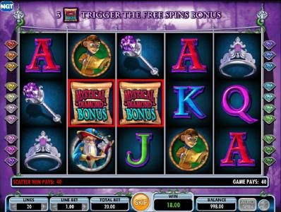 Moon Games featuring the Video Slots Diamond Queen with a maximum payout of $250,000