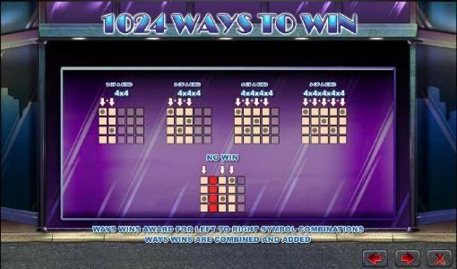 Diamond Tower :: 1024 ways to win