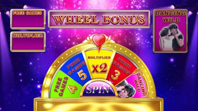 Mambo Free Games - Spin the wheel to win Free Games Multiplier and Dancing Wild.