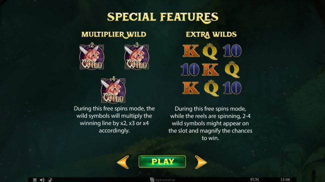 Kingbit Casino featuring the Video Slots Divine Forest with a maximum payout of $45,000