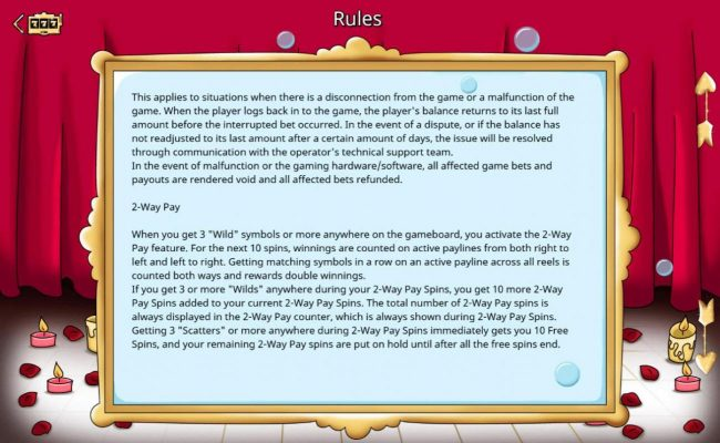 Do Not Disturb :: 2-Way Pay Rules