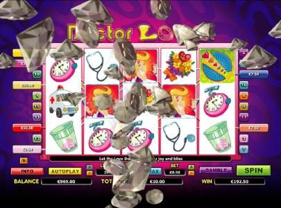 Play Club Casino featuring the Video Slots Doctor Love with a maximum payout of $10,000
