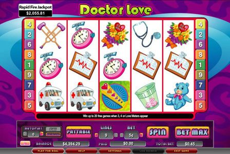 Play slots at Lucky Me Slots: Lucky Me Slots featuring the Video Slots Doctor Love with a maximum payout of 5,000x