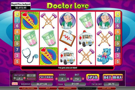 Royal House featuring the Video Slots Doctor Love with a maximum payout of 5,000x