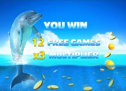 12 free games with a 3x multiplier