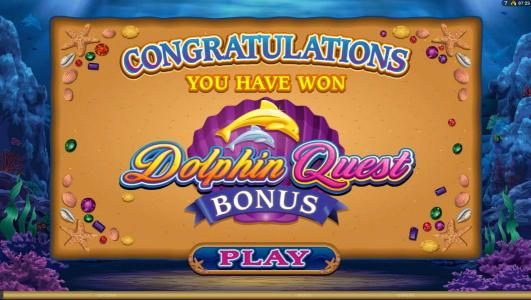 Dolphin Quest :: click play to continue with bonus feature