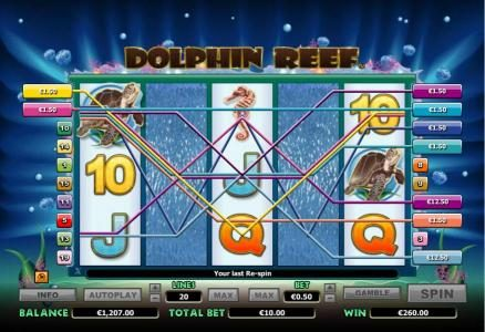 Africa Casino featuring the Video Slots Dolphin Reef with a maximum payout of $10,000