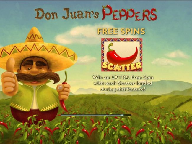 Play slots at Win Monaco: Win Monaco featuring the Video Slots Don Juan's Peppers with a maximum payout of $300