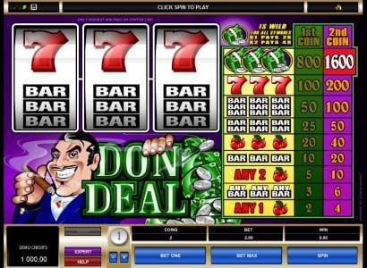 Play slots at Vegas Winner: Vegas Winner featuring the Video Slots Don Deal with a maximum payout of $16,000