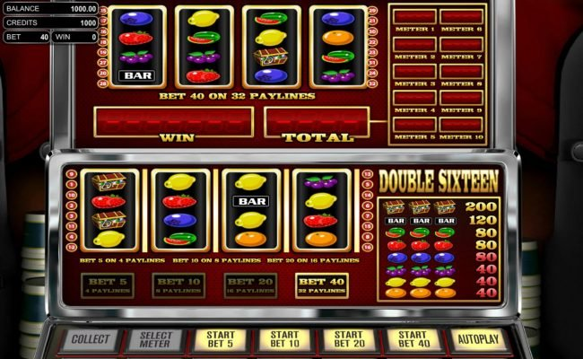 Play slots at Tradition: Tradition featuring the Video Slots Double Sixteen with a maximum payout of $8,000