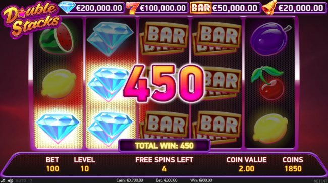 Svedala featuring the Video Slots Double Stacks with a maximum payout of $200,000