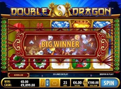Mr Green featuring the Video Slots Double Dragon with a maximum payout of $5,000