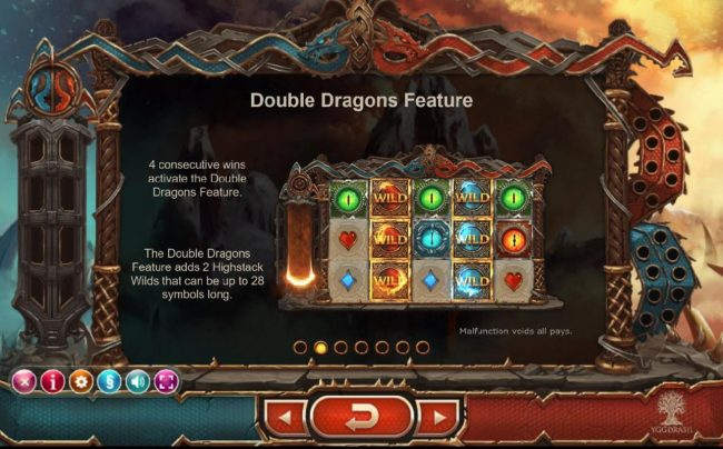 Play slots at Casino Cruise: Casino Cruise featuring the Video Slots Double Dragons with a maximum payout of $400,000