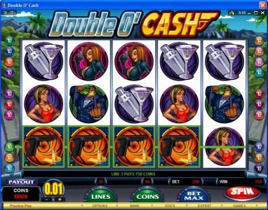 Lucky 247 featuring the video-Slots Double O' Cash with a maximum payout of $500,000