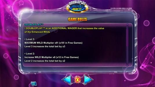 Casinsi featuring the Video Slots Double Play SuperBet with a maximum payout of $225,000
