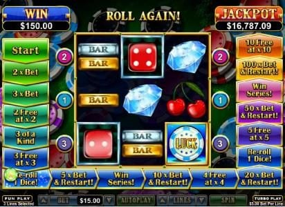 Sloto Cash featuring the Video Slots Double Ya Luck with a maximum payout of $250,000