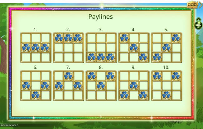 Doublin' Gold :: Paylines 1-10