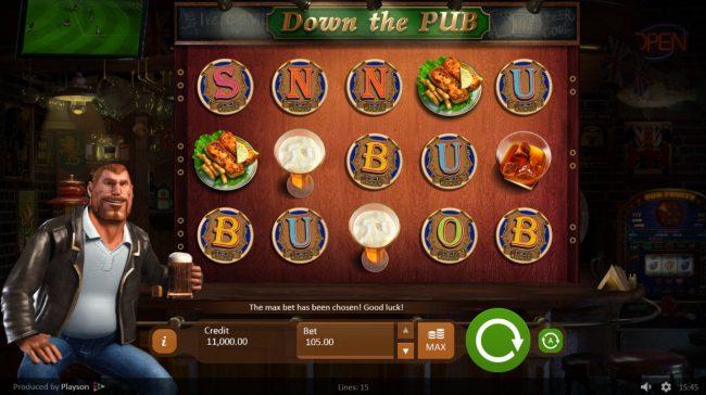 Down the Pub :: Main Game Board