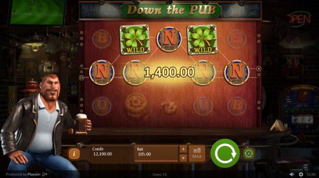Down the Pub :: A winning five of a kind