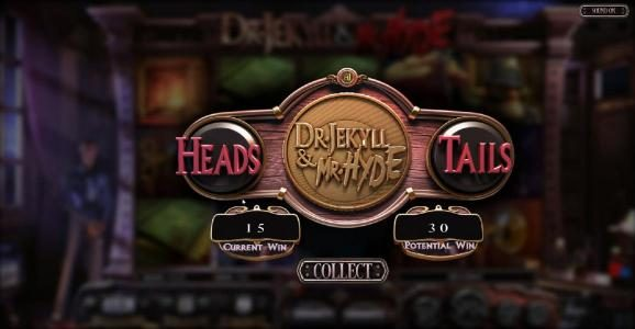 Dr. Jekyll & Mr. Hyde :: Double Up Feature Game Board