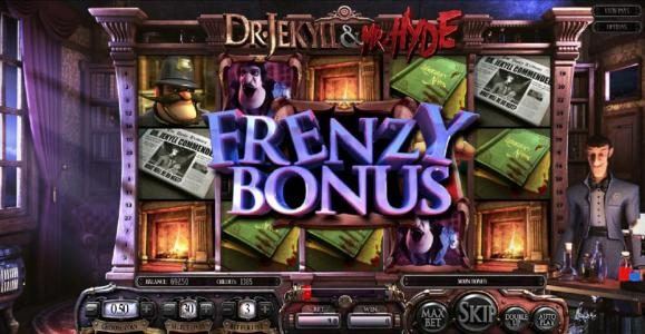 Frenzy Bonus Feature Triggered