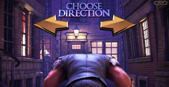 Choose which direction to go