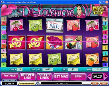 Tropez featuring the Video Slots Dr. Lovemore with a maximum payout of $500,000