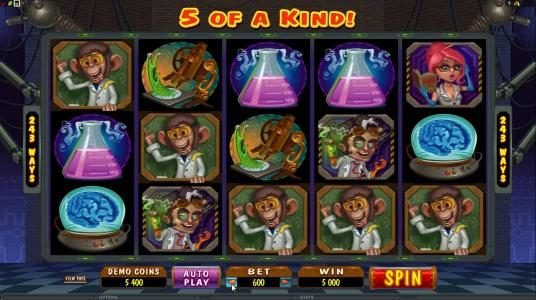 Lucky Me Slots featuring the Video Slots Dr Watts Up with a maximum payout of $200,000