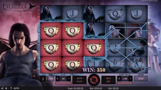 Llama Casino featuring the Video Slots Dracula with a maximum payout of $80,000