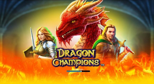 Dragon Champions :: Splash screen - game loading
