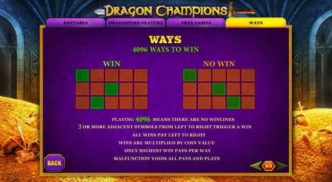 Dragon Champions :: 4096 Ways to Win