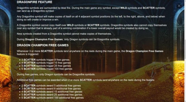 Dragon Champions :: Dragonfire Feature Rules