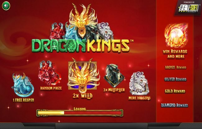 Play slots at Lock: Lock featuring the Video Slots Dragon Kings NJP with a maximum payout of $280,785