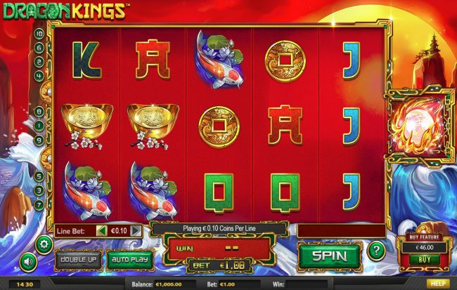 Superbet Palace featuring the Video Slots Dragon Kings NJP with a maximum payout of $280,785
