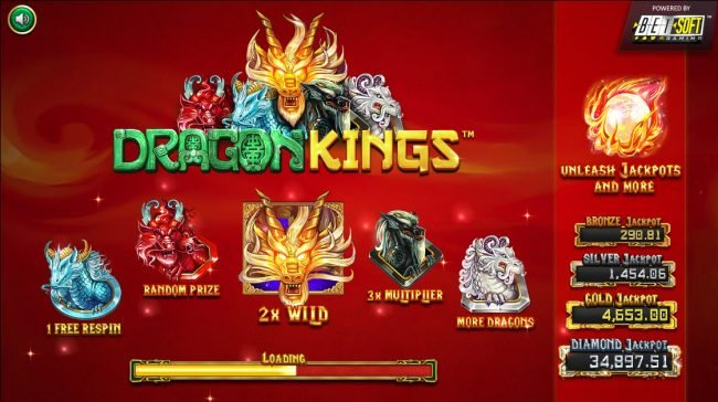 Play slots at Mister Winner: Mister Winner featuring the Video Slots Dragon Kings with a maximum payout of Jackpot