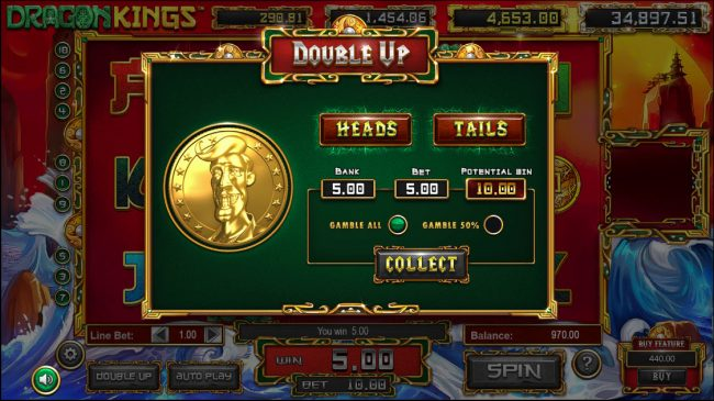 Play slots at X-Bet: X-Bet featuring the Video Slots Dragon Kings with a maximum payout of Jackpot