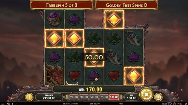 Jellybean Casino featuring the Video Slots Dragon Maiden with a maximum payout of $500,000
