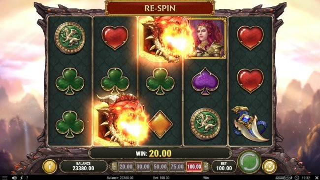 Jonny Jackpot featuring the Video Slots Dragon Maiden with a maximum payout of $500,000