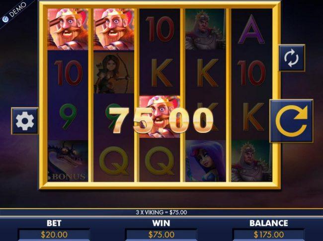 Play slots at Joy Casino: Joy Casino featuring the Video Slots Dragon Slayers with a maximum payout of $8,000