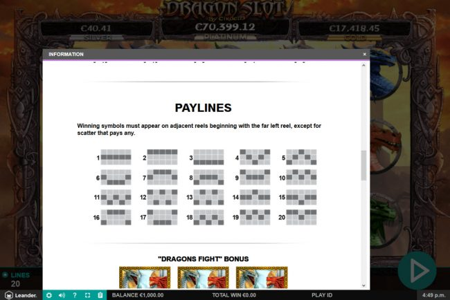 Amsterdam Casino featuring the Video Slots Dragon Slot Jackpot with a maximum payout of Jackpot